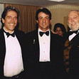 Mario Kassar, Sylvester Stallone and Andy Vajna at