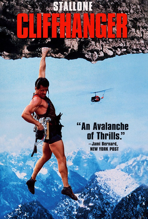 Poster for Cliffhanger
