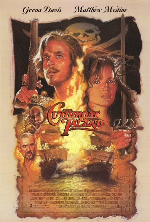 Poster for Cutthroat Island