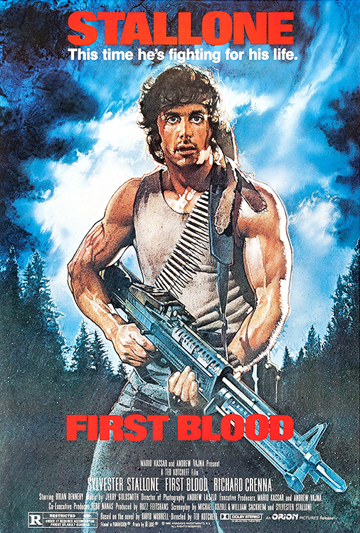 Poster for First Blood