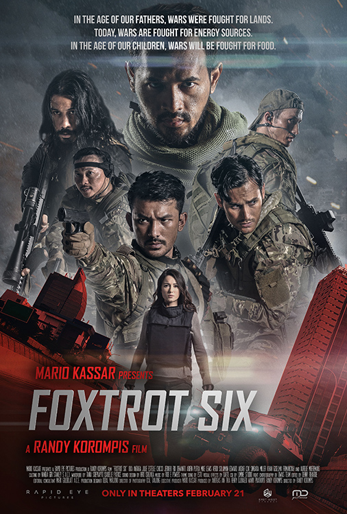Poster for Foxtrot Six