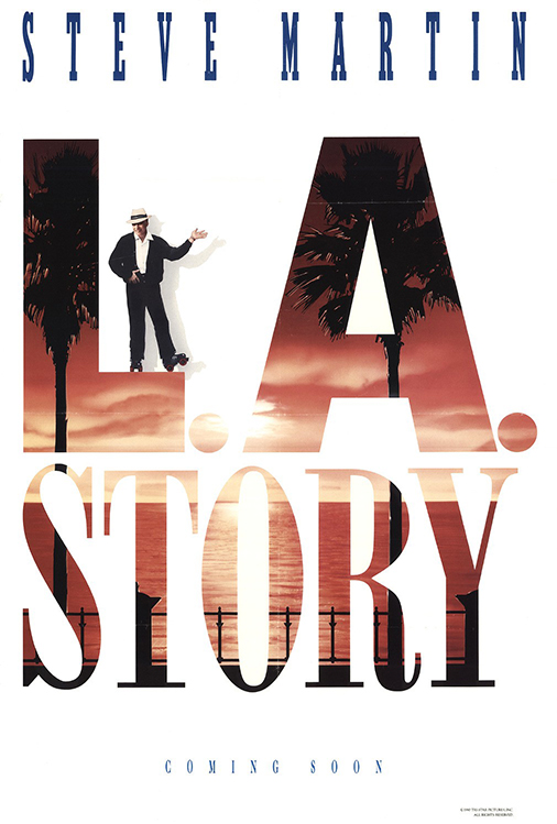 Poster for L.A. Story