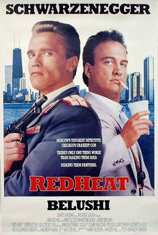 Poster for Red Heat