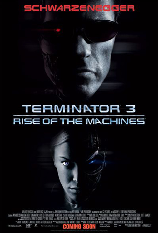 Poster for Terminator 3: Rise of the Machines