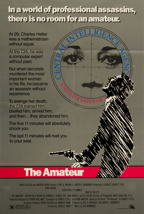 Poster for The Amateur