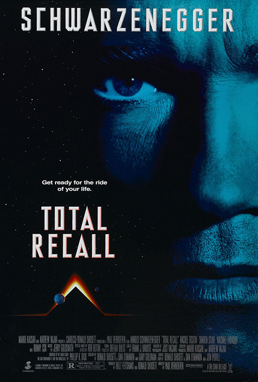 Poster for Total Recall